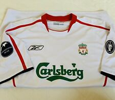XL CHAMPIONS LEAGUE WINNERS AWAY SHIRT 05/06. Reebok. Liverpool FC