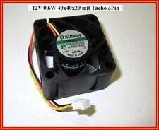 Sunon ventilador FAN velocímetro 12v 0,6w maglev 40x40x20 kde1204pkv3 1 trozo