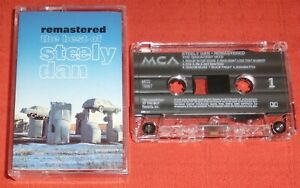 STEELY DAN - UK CASSETTE TAPE - REMASTERED - BEST OF STEELY DAN (GREATEST HITS)