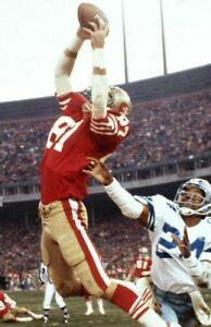 DWIGHT CLARK THE CATCH NINERS Poster Football Print Poster |2 x 3 Feet| A