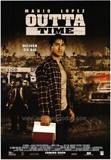 OUTTA TIME Movie POSTER 27x40 Mario Lopez John Saxon Ali Landry Nancy O'Dell