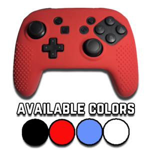 Performance Gaming Skin Rubber Case Cover  Nintendo Switch Pro Controller Grips