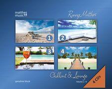 Chillout & Lounge, Vol. 1 - 4 [Gemafreie Hintergrundmusik in der 4 CD - Box]