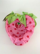 NEW Strawberry Shortcake Fabric Trick or Treat Toy Bag Purse Dress Up Halloween