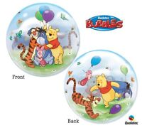 """22"""" Disney Winnie the Pooh Bubble Balloon Party Decorating Supplies"""