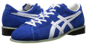 asics Weight Lifting Shoes 727 Blue White Leather TOW727.4201 JAPAN