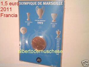 1,5 euro 2011 FRANCIA Marsiglia Olympique Marseille france frankreich 1 1/2