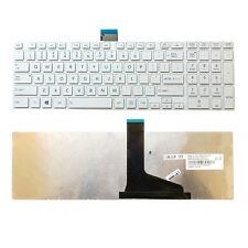 Genuine New Toshiba Satellite C850 C850D C855 C855D series US Keyboard white