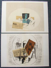 BRAQUE - TWO (2) CUBISTIC LITHOGRAPHS - 1963 - IN THE US