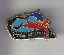RARE PINS PIN'S .. SPORT NAUTIQUE PLONGEE DIVING DAUPHIN FESTIVAL ACROPORA ~C7