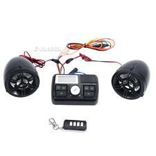Motorcycle Bike ATV UTV Audio FM Radio MP3 iPod Waterproof Stereo Speaker System