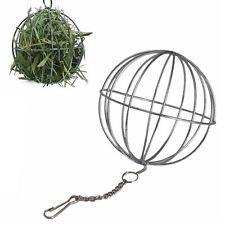 Toys Hanging Hay Ball  Sphere Feed Dispense Guinea Hamster Rabbit A55C