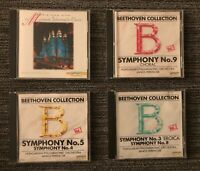Lot of 4 Laser Light Digital Audio CDs Beethoven Collection Mormon Tabernacle