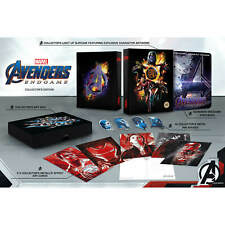 Avengers Endgame 3D & 2D SteelBook Collector's Edition (CLEARANCE PRICES)