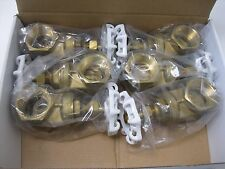 "Lot (6) 1-1/4"" NPT Stockham 200# Bronze LFB-103 Gate Valve LF NEW R0 (2154)"
