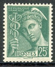 STAMP / TIMBRE DE FRANCE NEUF LUXE N° 411 ** TYPE MERCURE