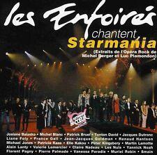 LES ENFOIRES CHANTENT STARMANIA - LES UNS CONTRE LES AUTRES - CD ALBUM 16T 1993