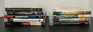 Sony Playstation 3 PS3 Video Games Collection You Pick & Choose - Tested - Lot