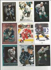 PAUL KARIYA RC LOT 9 UD PREMIER OPC SP TOPPS FINEST FLAIR REFRACTOR ROOKIE HOF