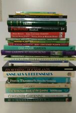 24 Gardening Books: Flowers and Gardens Decoration
