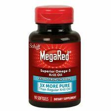 MegaRed OMEGA 3 Olio di Krill Capsule Extra Forte-conteggio 90