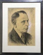 0244-Portrait von Karl Lohmann, gemalt Willy LOhmann, um 1950