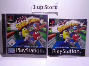 PlayStation 1 M & Ms Shell Shocked ( PS 1 )