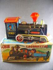 Locomotive  tinplate  Battery Operated  toy china (train) + box