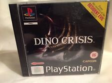 DINO CRISIS ORIGINAL BLACK LABEL SONY PLAYSTATION PSONE PS1 PS2 PAL