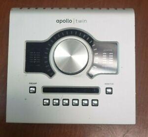 Universal Audio Apollo Twin UAD-2 Solo Core Silver Thunderbolt Audio Interface
