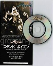 "POISON Stand(LP version)/Native Tongue JAPAN 3-track 3"" CD TODP-2392 Unsnapped"