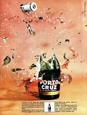 PUBLICITE ADVERTISING  017  1971   Porto Cruz  vin apéritif old personnal reserv