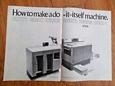 1969 Xerox Ad  How to make a do it itself Machine  Duplicator Machines