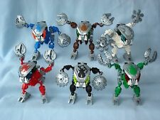2003 Lego Bionicle BOHROK KAL (8573 - 8578) Complete Set of 6 with Krana