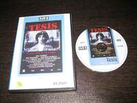 Tesis DVD Ana Torrent Fele Martinez Eduardo Noriega Miguel Picazo