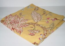 """P Kaufmann Hand Printed Floral Stain Resistant Fabric 58"""" X 3 Yards Rare PP16"""