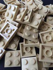Lego Tan 2x2 Baseplates 2x2 Brick Building Plates New Lot Of 50