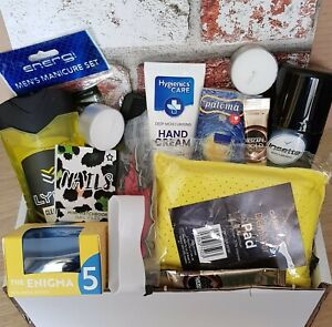 MENS GIFT HAMPER GROOMING PERSONAL CARE HUG IN A BOX DAD SON BIRTHDAY CHRISTMAS