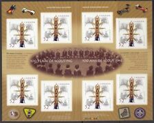 Canada Booklet Thematic Postal Stamps