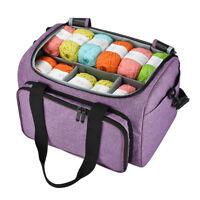 Yarn Storage Bag Handbag Yarn Crochet Knitting Accessory Organizer Crochet Ba Pl