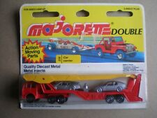 Vintage Majorettetruck Mercedes Auto Carrierwithtwo cars #319 card