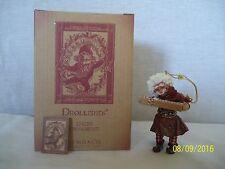 "Demdaco Drolleries Christmas Ornament ""Enzio"" with Original Box - NEW"