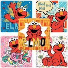 "12 Elmo Sesame Street Birthday Party Favors 2.5/"" Personalized Lollipop Stickers"