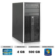 Ordenador Hp 6200 Pro Mt Intel Core i5 3.1 ghz 4 Gb ram 500gb Hd