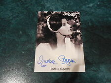 James Bond Archives 2014 Edition Eunice Gayson From Russia Full Bleed Autograph
