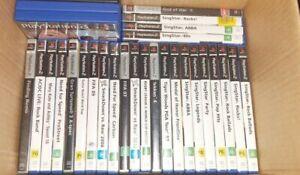 Bulk Lot Of Playstation 2 Games PS2