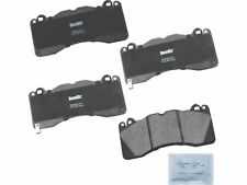 For 2015, 2017-2019 Ford Mustang Brake Pad Set Front Bendix 68418SF 2018