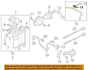 VW VOLKSWAGEN OEM Secondary Air Injection System-Pressure Sensor 07K906051B