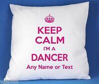 Keep Calm I'm a DANSEUSE SATIN LUXE polyester