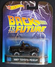 HOT WHEELS RETRO ENTERTAINMENT BACK TO THE FUTURE 1987 TOYOTA PICKUP BNIP